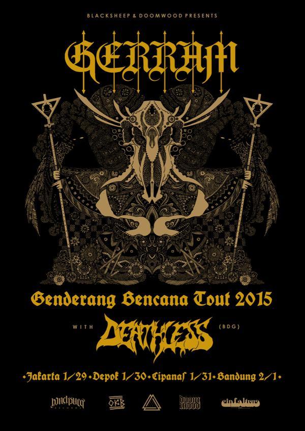 gerram - tour